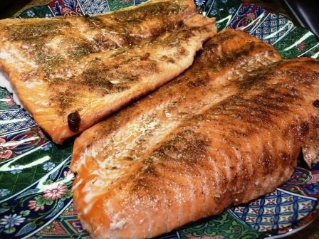 Salmon with Indian Spices, poached in oil Recipe by John ...