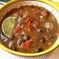 Easy Black Bean & Chorizo Soup