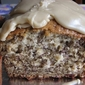 Banana Bread with Quick Caramel Icing
