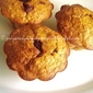 Eggless Pumpkin,Oats & Nutella Muffins