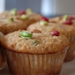 Cranberry & Pistachio Bran Muffins with Orange Zest