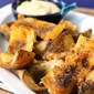 Baked Spicy Potato Skins Recipe with Yogurt-Curry Sauce & A Giveaway!