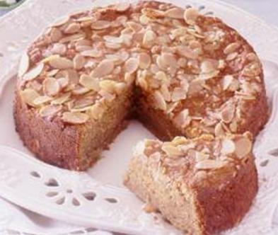 Swedish Apple Cake (sockerkaka med applen)