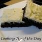 Recipe: Frosted Irish Cream Brownies