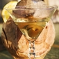 Italian Lemoncello Amaretto Godfather Style Martini recipe