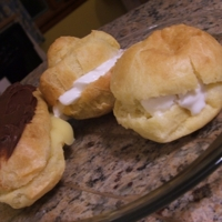 Cream puffs and profiteroles and eclairs…oh my!