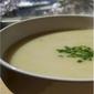 Creamy Green Garlic Soup