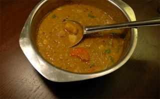 Sambar (Spicy Indian Lentil Soup)
