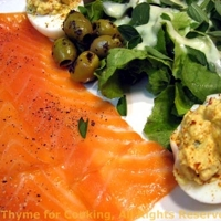 Smoked Salmon; A wee delay for Season's Eatings