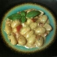 Gnocchi w/Parmesan Tomato Cream Sauce