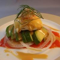 Poached Egg, Smoked Salmon & Avocado Salad