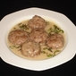 Greek Meatballs In Avgolemono Sauce