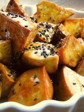 "Japanese Snack/Dessert: Daigaku Imo/""University Sweet Potatoes"""