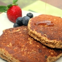 Vanishing Oatmeal Cookie Pancake