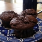 Avocado-Chocolate Muffins