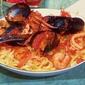 Mussels, Shrimp Calamari Pomodoro