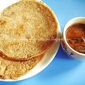 Savoury Wheat Rava & Brown Rice Pancakes