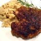 Pistachio Crusted Kurobuta Pork Chops