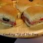Recipe: Italian Mini Party Sandwiches
