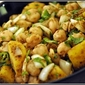 Sweet Potato and Chickpeas Chaat