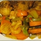 Sassy Vegetables and Baked Oregano Chicken