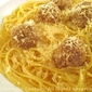 Garlic Meatballs with Angel Hair Pasta; Will I ever learn