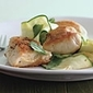 Chicken Breasts with Zucchini Pappardelle