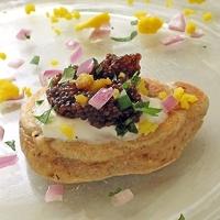 International House of Pancakes! Buckwheat Blini with Caviar