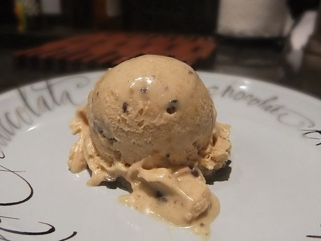 Banana Peanut Butter Mock Ice Cream
