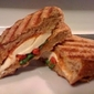 Cheese & Roasted Red Pepper Paninis