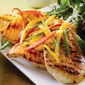 Grilled Garlic Chicken with Bell Peppers