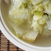 Chinese (Napa) Cabbage Soup