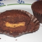 Reese's Peanut Butter Cup Brownie Cupcakes