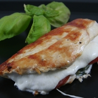 Grilled Chicken Caprese