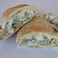 Chicken Artichoke Pesto Calzones