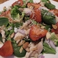 April's Family Recipes; Memories of Family, Food and Fun- And a Spinach, Romaine, Strawberry Salad with Balsamic Vinaigrette
