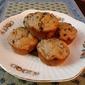 Banana Sour Cream Chocolate Chip Muffins