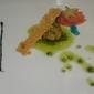 Bon Bon al salmone con pesto rivisitato alle olive taggiasche