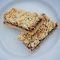Raspberry Almond Crumb bars with Toasted Coconut