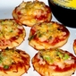 Shrimp Pizzettes