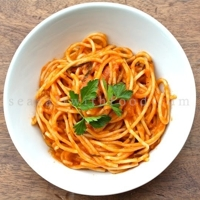 Angel Hair Pasta With Tomato Sauce