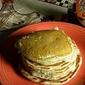 cinnamon/vanilla sour cream pancakes