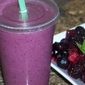 Refreshing Almond and Berry Smoothie