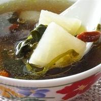Watercress and Daikon(White Radish) Soup