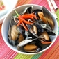Steamed Mussels With Lemongrass-so hap xa