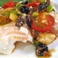 Baked Cod Provençal; Cooking fish, the Weekly Menu