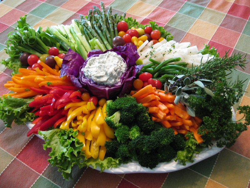 Vegetable Crudits Platter Recipe By Mary CookEatShare