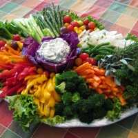 Vegetable Crudités Platter
