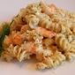 Shrimp, Feta and Fresh Herb Mac and Cheese