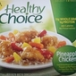Healthy Frozen Meals: Healthy Choice Pineapple Chicken